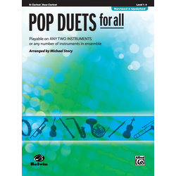 Pop Duets for All - Clarinet