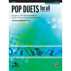 Pop Duets for All - F Horn