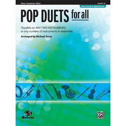 Pop Duets for All - Piano/Conductor/Oboe