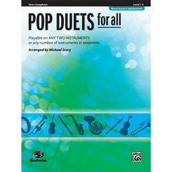 Pop Duets for All - Tenor Sax