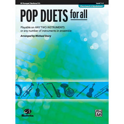 Pop Duets for All - Trumpet