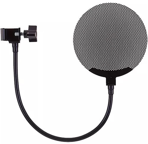 View larger image of Royer Labs PS-101 Metal Pop Filter with Gooseneck - Black