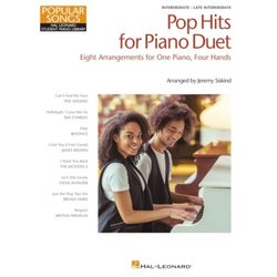 Pop Hits for Piano Duet – Popular Songs Series (1P4H)