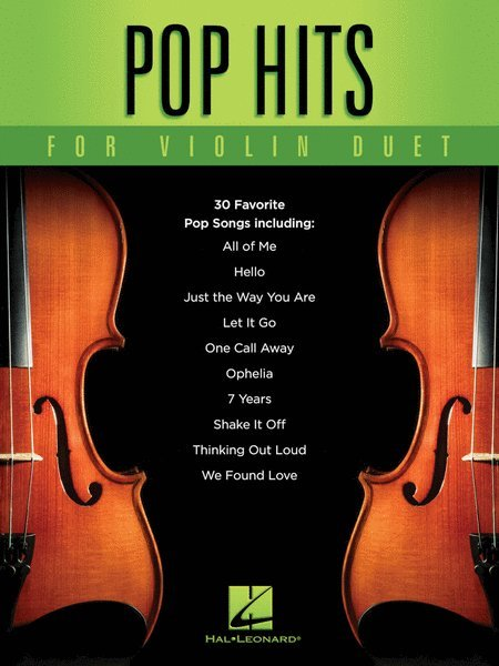 View larger image of Pop Hits for Violin Duet
