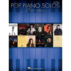 Pop Piano Solos – 27 Hit Songs (2nd Edition)