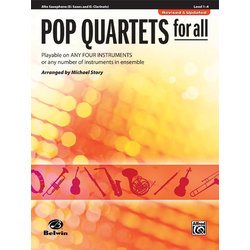 Pop Quartets for All - Alto Sax