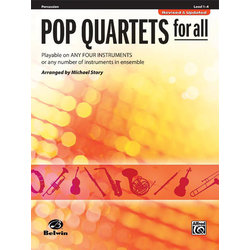 Pop Quartets for All - Percussion