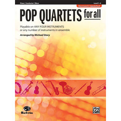 Pop Quartets for All - Piano / Conductor / Oboe