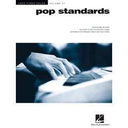 Pop Standards Jazz Piano Solos Series Volume 41