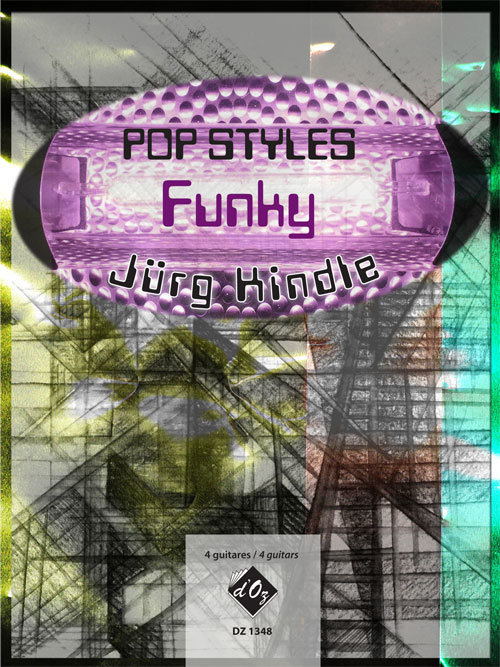 View larger image of Pop Styles - Funky (Kindle) - Guitar Quartet