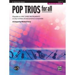 Pop Trios for All - Clarinet