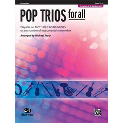 Pop Trios for All - Percussion
