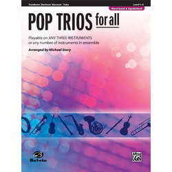 Pop Trios for All - Trombone