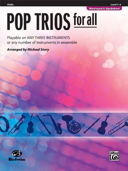 View larger image of Pop Trios for All - Violin