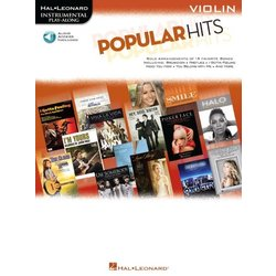 Popular Hits: Instrumental Play-Along for Violin w/Online Audio