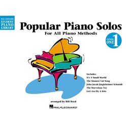 Popular Piano Solos – Level 1 – 2nd Edition