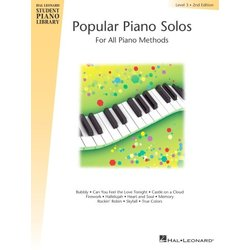 Popular Piano Solos (Hal Leonard Student Piano Library) – Level 3, 2nd Edition