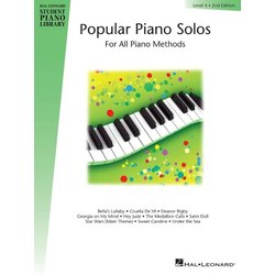 Popular Piano Solos (Hal Leonard Student Piano Library) – Level 4, 2nd Edition