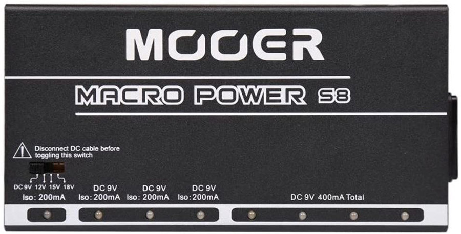View larger image of Mooer MPS8 Macro Power 8 Ports Isolated Power Supply