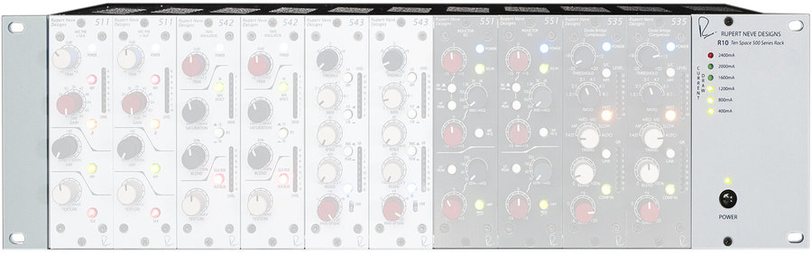 View larger image of Rupert Neve Designs R10 500 Series Rack - 10 Space