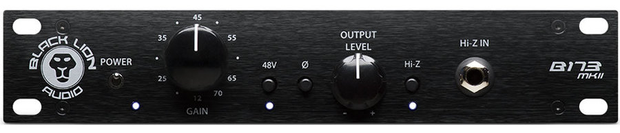 View larger image of Black Lion Audio B173 MKII Microphone Preamp