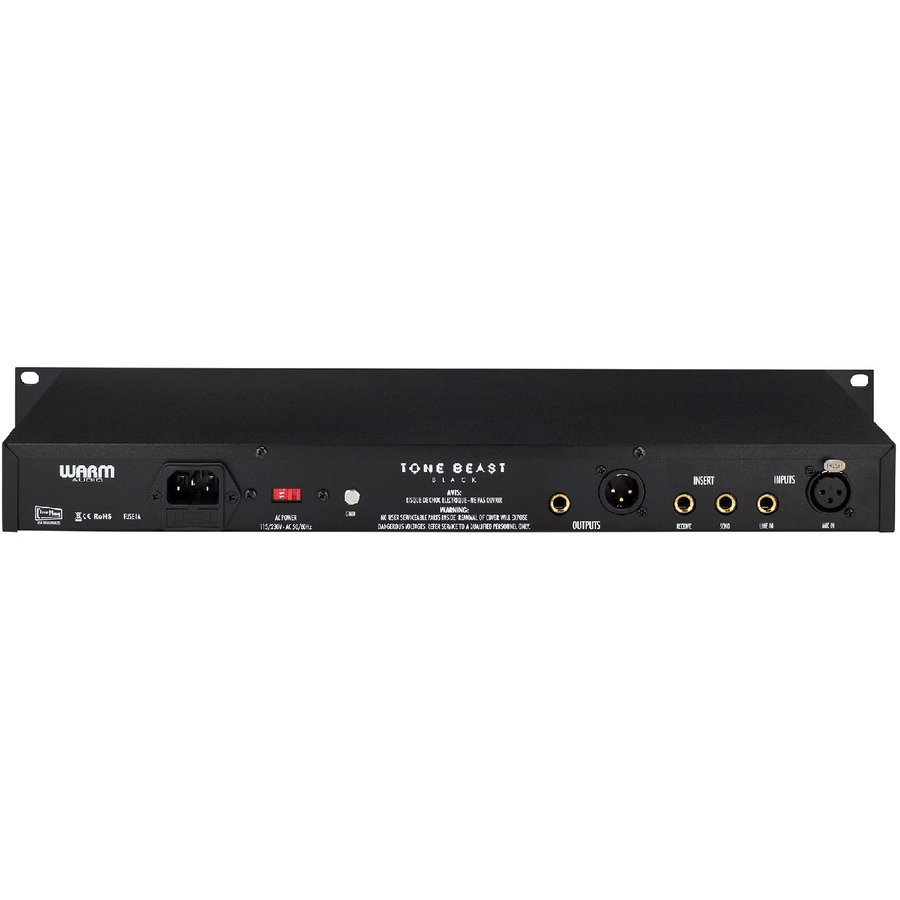 View larger image of Warm Audio TB12 Tone Beast Microphone Preamp - Black