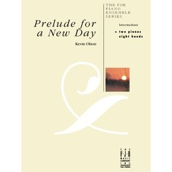 Prelude for a New Day - Piano Duet (2P8H)