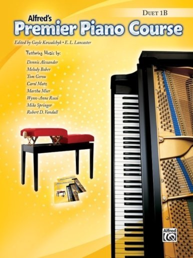 View larger image of Premier Piano Course 1B - Duet