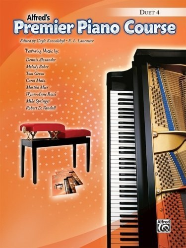 View larger image of Premier Piano Course 4 - Duet