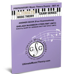 Preparatory Music Theory Exams Set 2 Answer Book