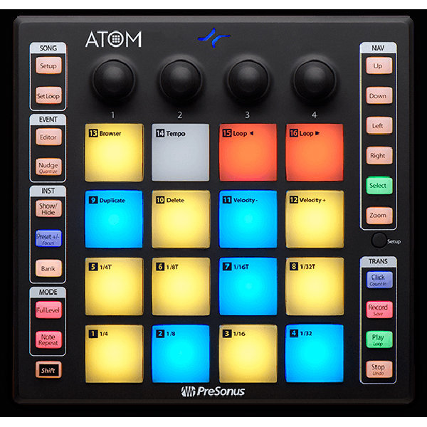 View larger image of PreSonus ATOM Production and Performance Pad Controller