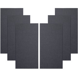 Primacoustic Broadway Broadband Absorbers - 2, Beveled, Black, Set of 6