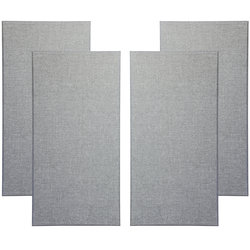 Primacoustic Broadway Broadband Absorbers - 3, Beveled, Grey, Set of 4