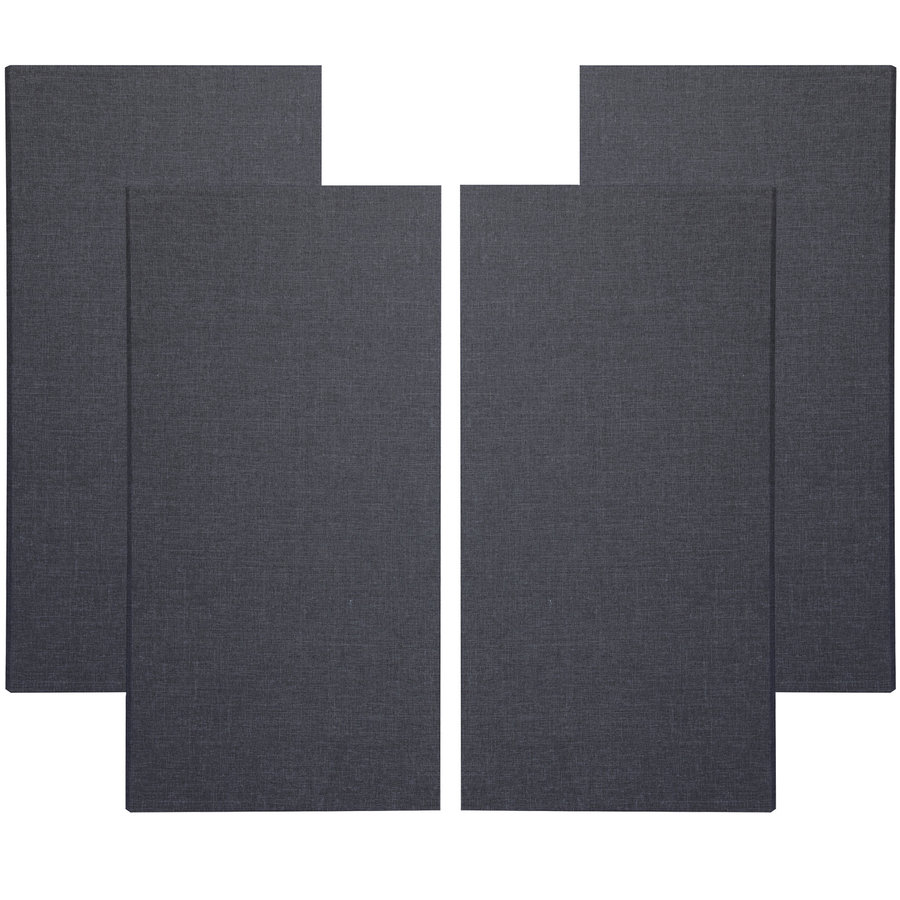 View larger image of Primacoustic Broadway Broadband Absorbers - 3, Black, Set of 4