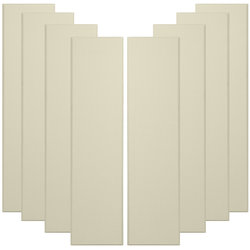 Primacoustic Broadway Control Columns - 3, Beveled, Beige, Set of 8