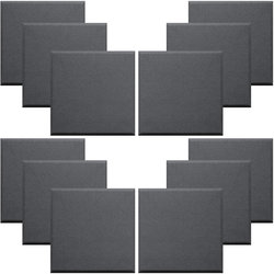 Primacoustic Broadway Control Cubes - 2, Beveled, Black, Set of 12
