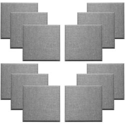 Primacoustic Broadway Control Cubes - 2, Beveled, Grey, Set of 12