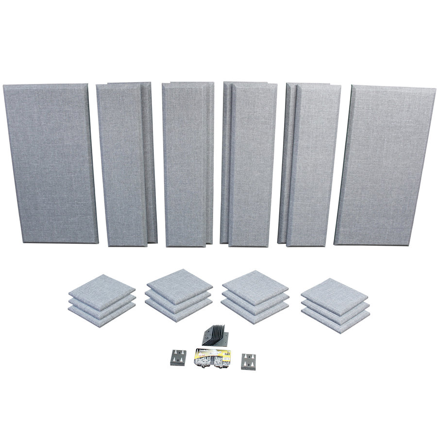 View larger image of Primacoustic London 12 Acoustic Treatment Kit - Grey