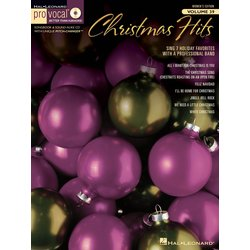 Pro Vocal Women's Edition Volume 39 - Christmas Hits (Book & CD)