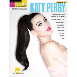 Pro Vocal Women's Edition - Volume 60 - Katy Perry