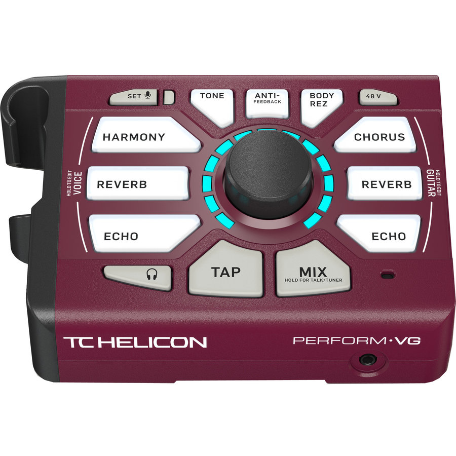 View larger image of TC Helicon Perform-VG Vocal and Acoustic Guitar Processor