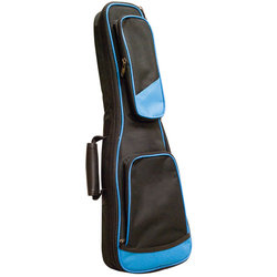 Profile 100 Series Soprano Ukulele Gig Bag - Black/Blue