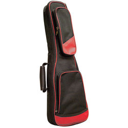 Profile 100 Series Soprano Ukulele Gig Bag - Black/Red
