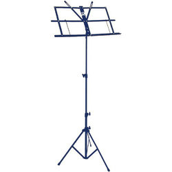 Profile 3 Section Sheet Music Stand - Blue