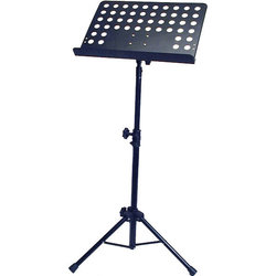 Profile Orchestral Music Stand with Holes - Black