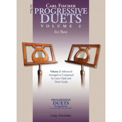 Progressive Duets for Strings Vol.2 - Double Bass