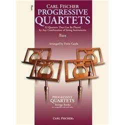 View larger image of Progressive Quartets for Strings - Double Bass