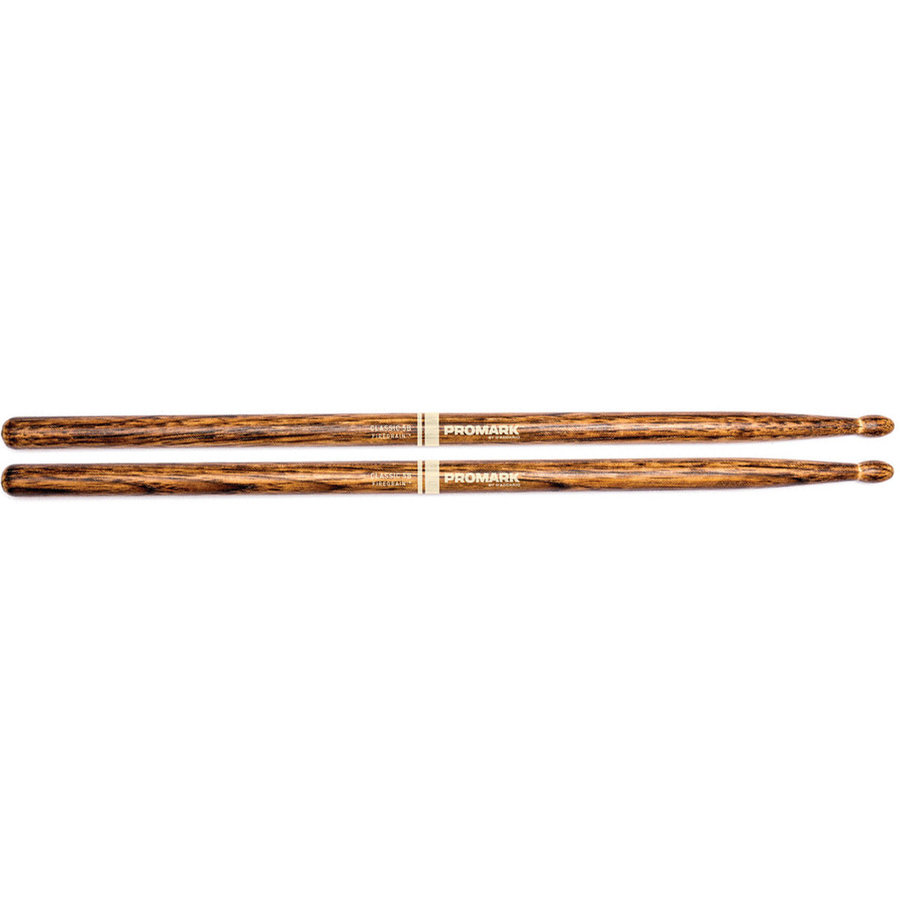 View larger image of ProMark FireGrain Classic Drumsticks - 5B, Hickory
