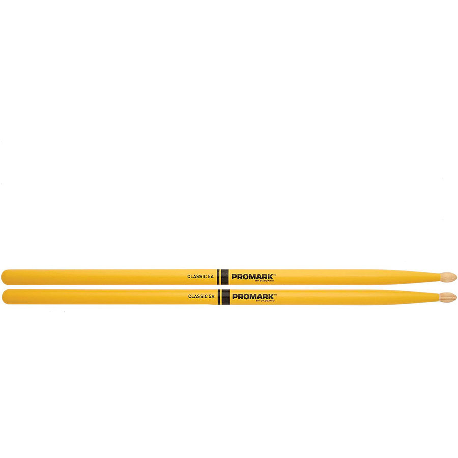 View larger image of ProMark Classic Drumsticks - 5A, Yellow