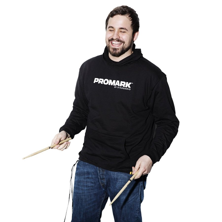 View larger image of ProMark Logo Pullover Hoodie - Black, XL